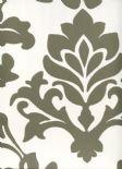 Diamond Wallpaper Balgari 09-Oyster By Wemyss Covers Wallcoverings